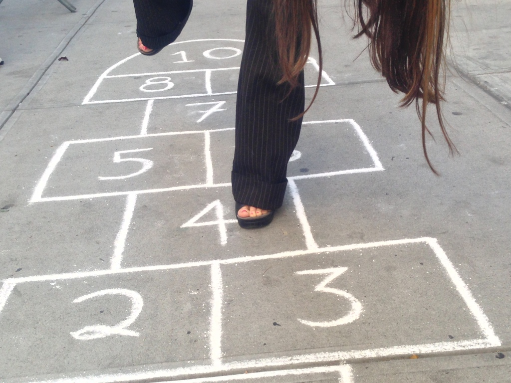 The Hopscotch Formula - test shot