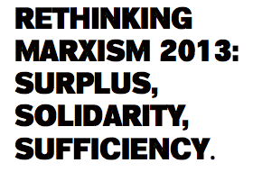 Happy to be participating in the Rethinking Marxism Conference at University of Massachusetts in Amherst, MA with my fellow members of The Pedagogy Group.